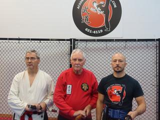 Cours de Iaido à l'Académie