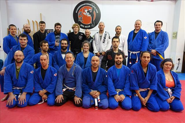 Jiu-jitsu Brésilien à l'Académie