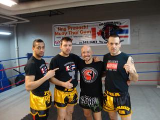 Stage de Boxe Thai avec Skarbowsky