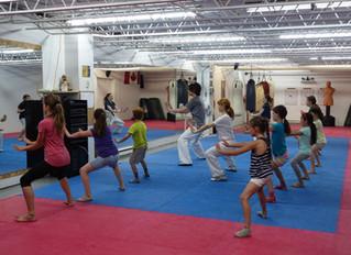 Camp d'été d'arts martiaux pour enfants 2016