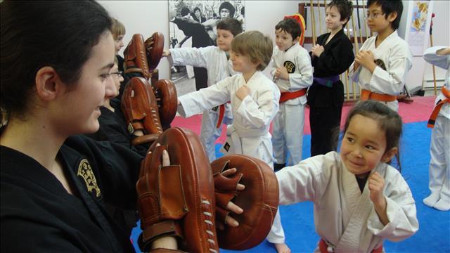 Cours d'arts martiaux enfants