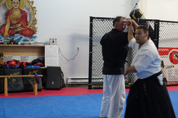 Clé de poignet en Aikido.