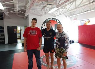 Stage de MMA avec Mark Hominick à Québec