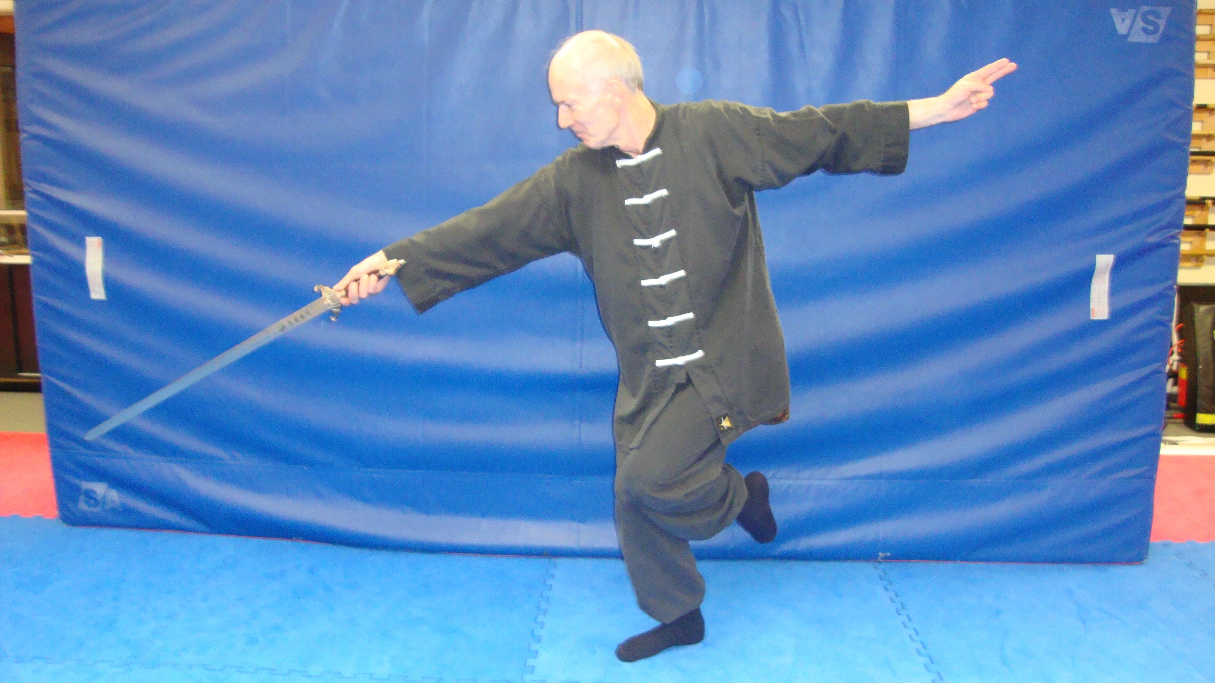 Piquée à l'épée Tai Chi.