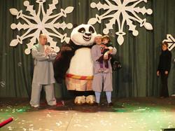 Kung fu Panda et les moines Shaolin
