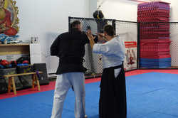 Clé de coude en Aikido.