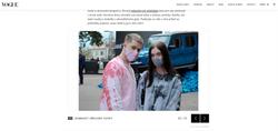 Street Style of Mercedes Benz Fashion Week Prague, published in Vogue Magazine Checoslovaquia