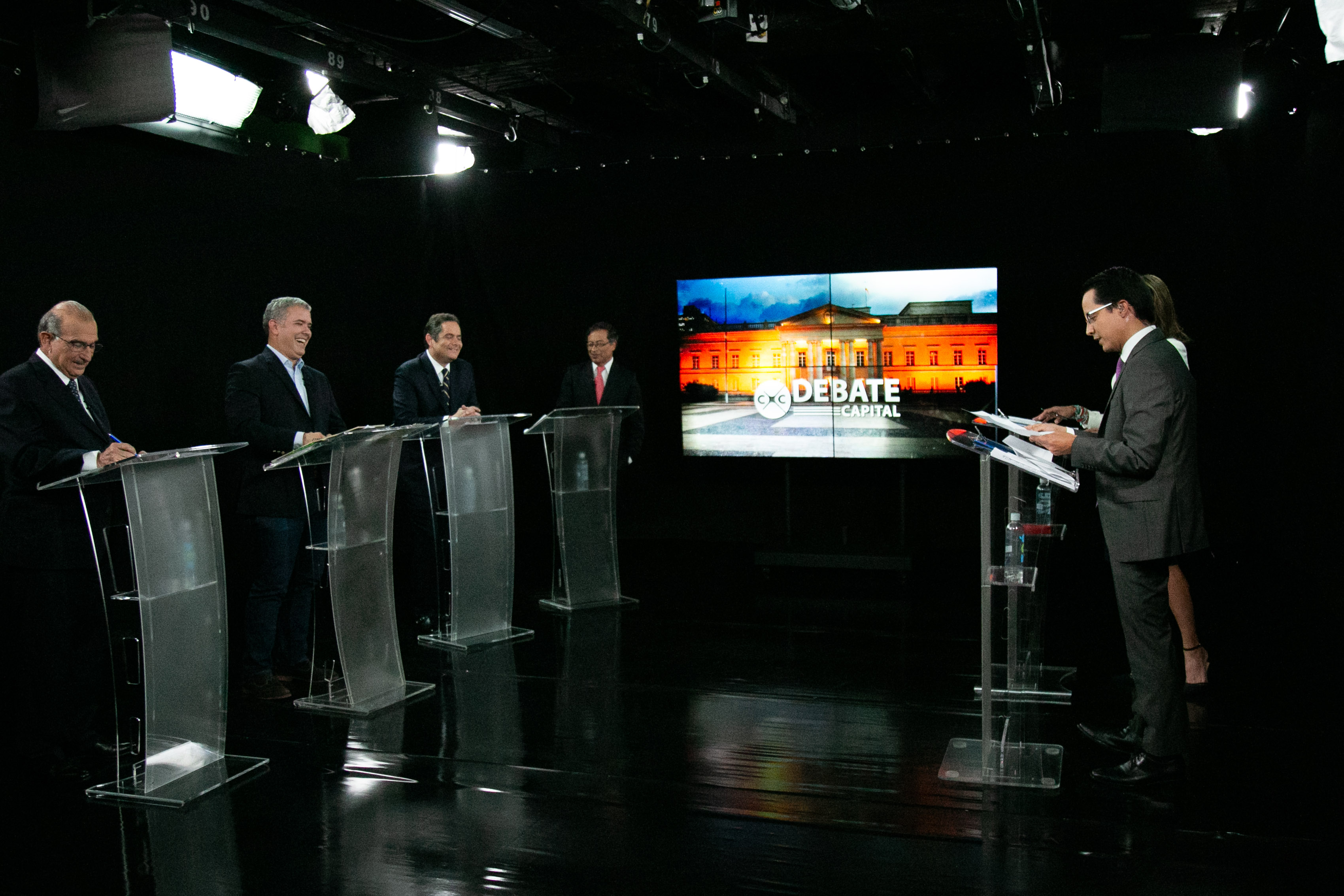 Colombia's presidential debate by Canal