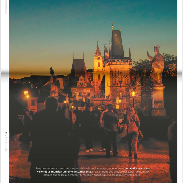 Avianca Magazine Cover