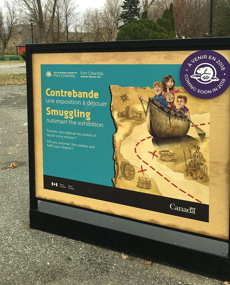 L'histoire singulière de la contrebande à Fort-Chambly