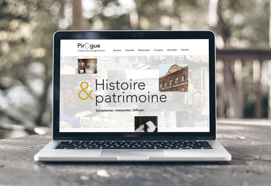 Le site web de Pirogue fait peau neuve!