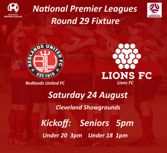 NPL Round 29 - Final Home Game for 2019