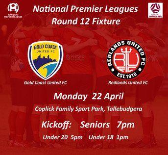 NPL Round 12 - Off to the Gold Coast