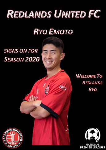 Media Release:   Ryo Emoto Signs for Red Devils