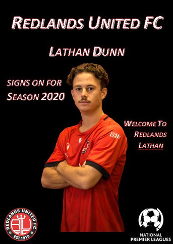 Media Release:   Lathan Dunn Now a Red Devil