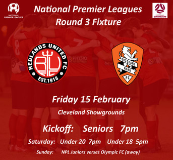 NPL Round 3 - 2nd Home Game for 2019