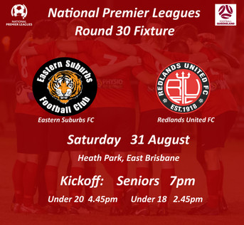 NPL Round 30 - Our Final NPL Game for 2019