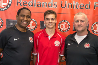 Redlands Sign NPL Young Gun