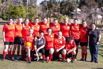 Womens City 4 Grand Final Winners