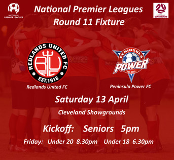 NPL Round 11 - Back at the Showgrounds