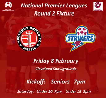 NPL Round 2  -  1st Home Game for 2019