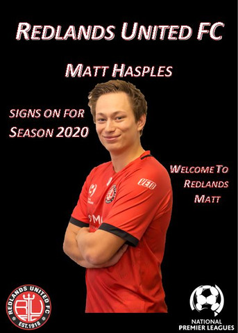 Media Release:   Hasples a Red Devils
