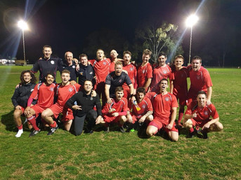Mens City 4 Grand Final Winners