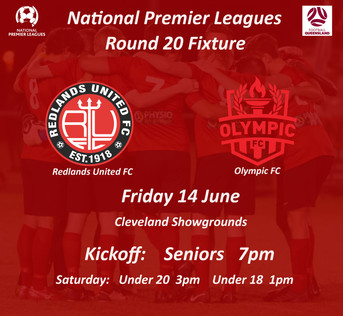 NPL Round 20 is back at the Showgrounds