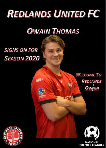 Media Release:   Thomas a Red Devil