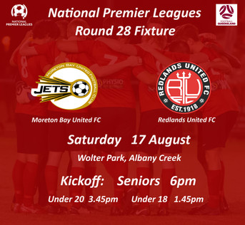 NPL Round 28 - We're Off to Albany Creek