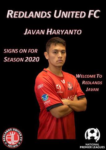 Media Release:   Javan Haryanto Signs for Red Devils