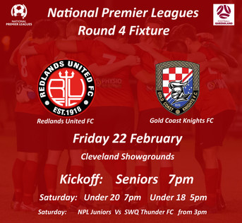 NPL Round 4 - 3rd Home Game for 2019