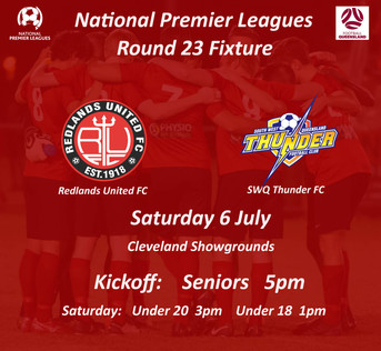 Thunder at the Showgrounds in NPL Round 23 Clash