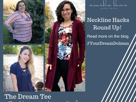 Dream Tee Neckline Hacks Day #2