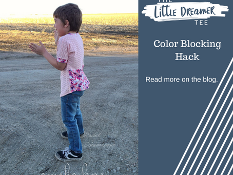 Little Dreamer: Let's Do Some Color Blocking!