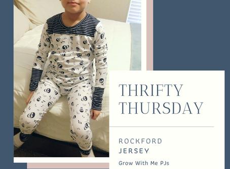 Thrifty Thursday - Rockford Grow With Me PJ's