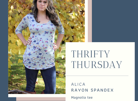 ALICIA : THRIFTY THURSDAY