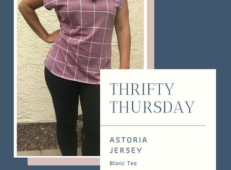 Thrifty Thursday: Astoria Jersey Blanc Tee