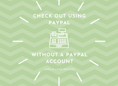 Check out using PayPal without a PayPal Account