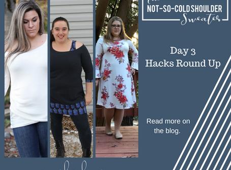 Not So Cold Shoulder Hacks - Day 3