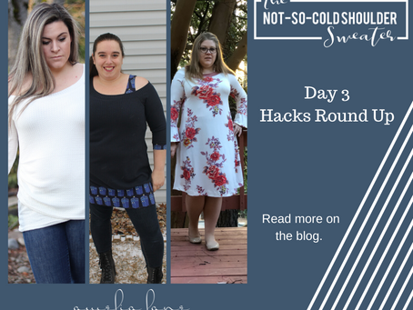 Not So Cold Shoulder Hacks - Day 3