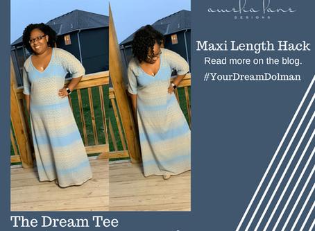 Hemline Hack - Maxi Dress