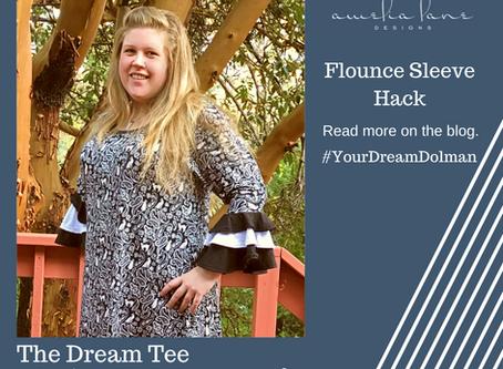 Dream Tee Flounce Sleeves