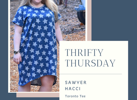 Tee to Dress Hack and Thrifty Thursday