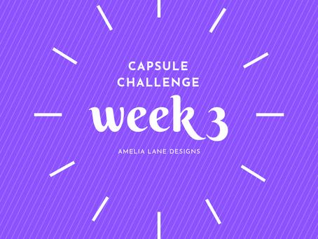 Capsule Challenge Week 3