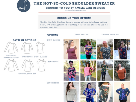 Not So Cold Shoulder - Pattern Round Up