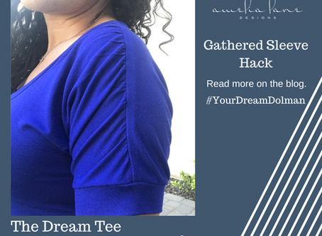 Dream Tee - Gathered Shoulder Hack