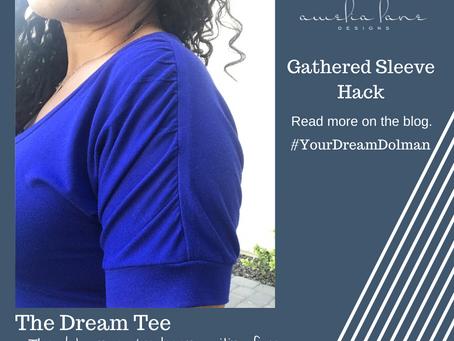 Dream Tee - Gathered Shoulder Hack