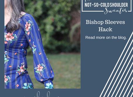 Not So Cold Shoulder Hack - Bishop Sleeves