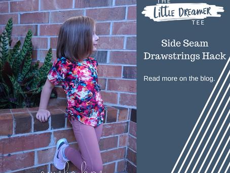 Little Dreamer: Side Seam Drawstrings